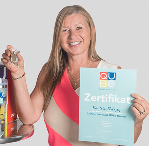 Swiss-QUBE Beraterin - Maria Luise Elshazly